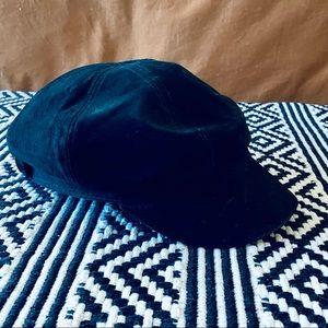 FREE PEOPLE black lieutenant hat